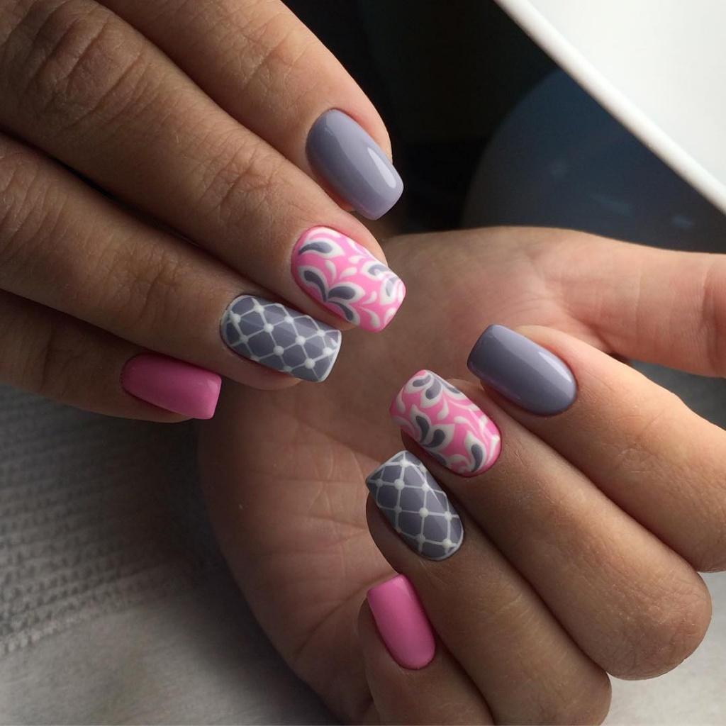 фото ногти с гелевым покрытием на 2018